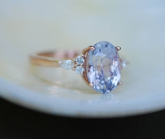 new of unique ring on thewhistleng pinterest purple engagement sapphire com best images rings lavender