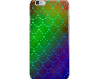 Mermaid iPhone Case, Gifts for her, iphone cases, mermaid scales, protective cases