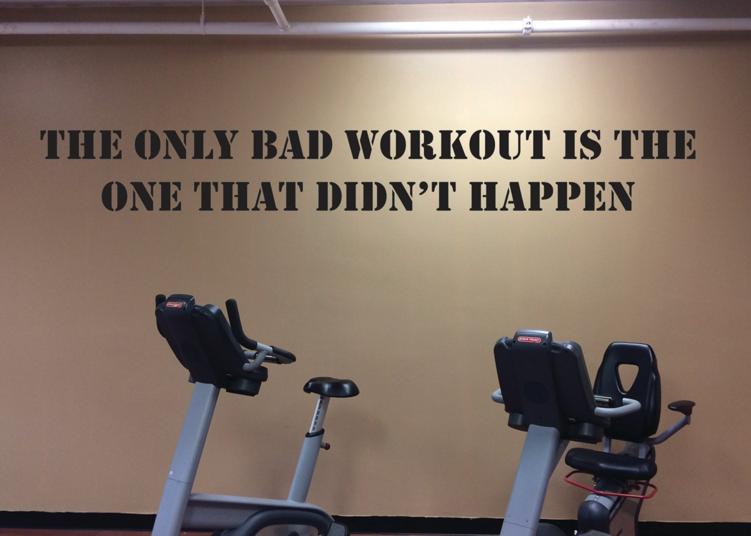 Workout motivation accessory gym wall decal home design