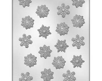 "1.25"" Snowflake Chocolate Candy Mold"