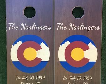 Cornhole Game by Colorado Joe's Colorado Mountain Medallion