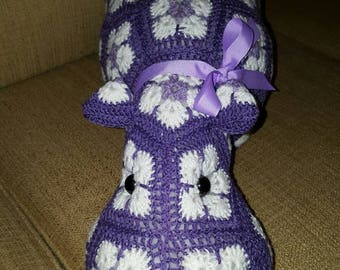 Crochet Hippopotamus the Hippo, Heidibears Design.