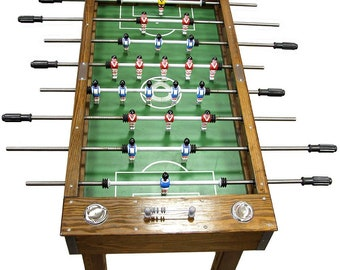 Portuguese Professional Wood Foosball Football Soccer Table Matraquilhos Futbolin Home Edition