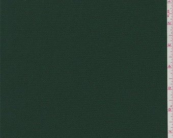 Green Gable Polyester Crepe, Fabric By The Yard