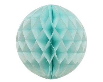 Honeycomb Ball, Light Blue Honeycomb Ball, Honeycomb Balls, 1st Birthday Decor, Baby Shower Decoration, Bridal Shower Decor, Gender Reveal