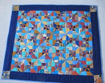 "Patchwork quilt ""Nile"""
