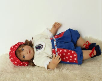 "Reborn/collectible doll clothing set ""Jenicek2"""