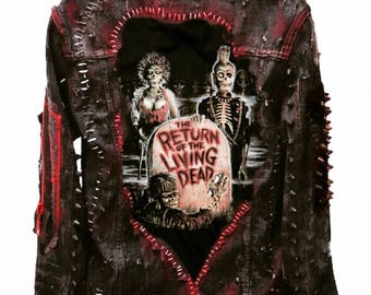 The Return of the Living Dead jacket by Chad Cherry