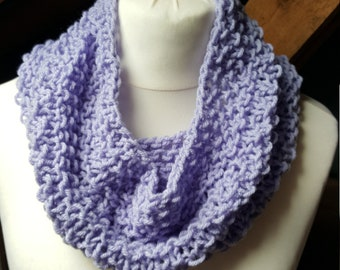 Loose knit Cowl