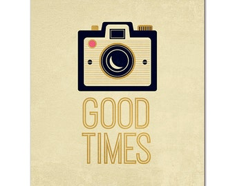 "8"" x 10"" Cardstock Print - Good TImes from Fancy Pants"