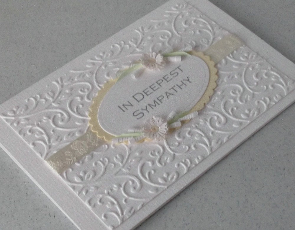 Nice Sympathy Card Ideas To Make Part - 8: ?zoom