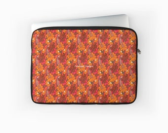 Groovy Flowers Laptop Sleeve! Multiple Sizes Available!