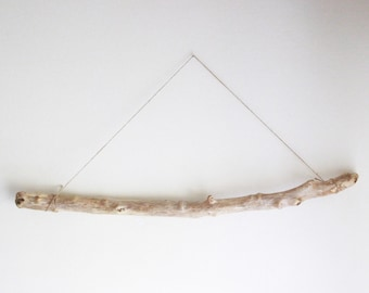 """1 Thick Driftwood Branch -- 86 cm (33.9"""") -- Quality Drift Wood for DIY Crafts, Curtain, Clothes Rack, Wall Hanging, Photo Display"""