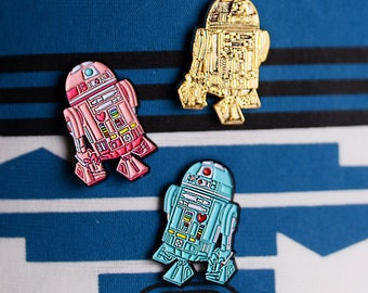 Pastel Cute Robot, Soft Enamel Pin