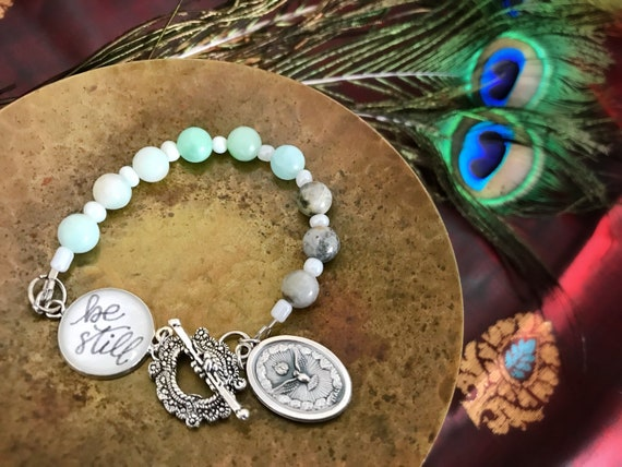 Be Still in the Spirit Beaded Bracelet