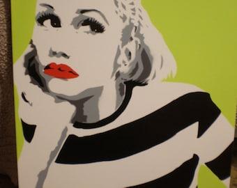 Gwen Stefani (green)