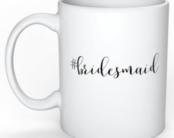 Bridesmaid Gift Coffee Mug #bridesmaid Wedding Planning Gift for Bridesmaid Best Friend Gift Bridal Shower Gift Funny Wedding Mug