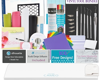 Silhouette Cameo 3- Starting off with Vinyl Bundle
