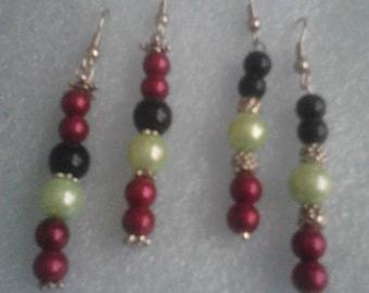 Kwanzaa earrings