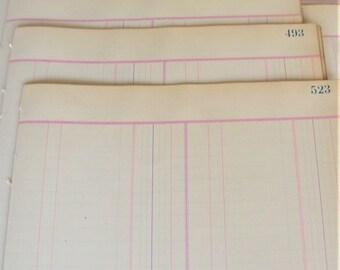 Livre blanc antique papier livre feuilles 20 feuilles pour Mixed Media Collage éphémères Antique Scrapbooking