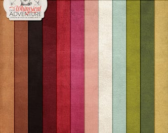 Thanksgiving Dinner, Be Thankful, Count Your Blessings, Solid Color, Digital Paper Pack, Instant Download, To Gather, Digital Scrapbooking