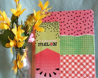 Quirky Watermelon Journal