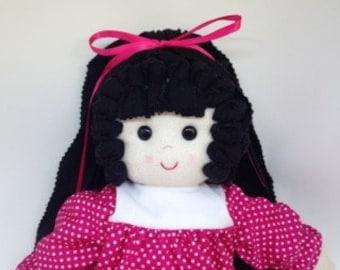 Rag Doll, Dolls, Doll, Doll Handmade, Fabric Doll, Cloth Doll,  Textile Doll, Handmade Dolls, Cloth Dolls