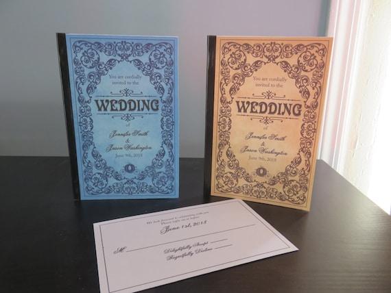 Storybook Wedding Invitation: Fairytale Storybook Wedding Invitations