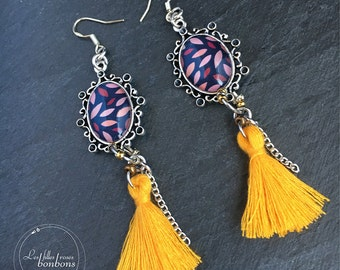 Earrings tassels unique