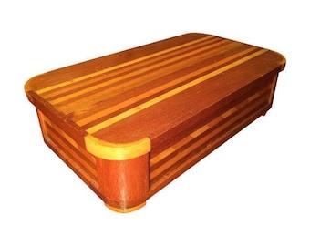 Vintage Italian Inlay Wood Box