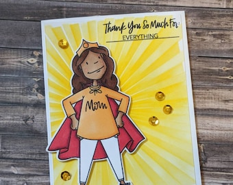 Super Mom! Mother's Day Card