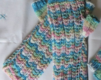 Wrist Warmers Hand Knitted