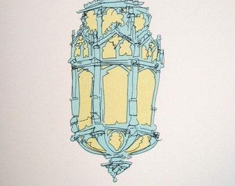 Old Church Lamp