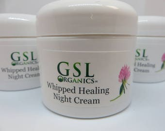 Whipped Healing Night Cream - Anti Aging & Rosacea