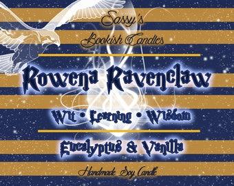Rowena Ravenclaw-Eucalyptus & Vanilla-Bookish candle