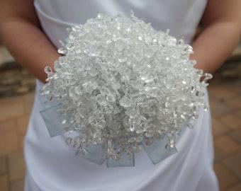 Cinderella Crystal Bridal Wedding Bouquet