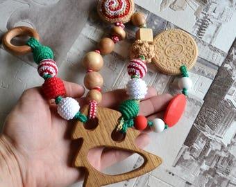 Xmas Tree teething toy