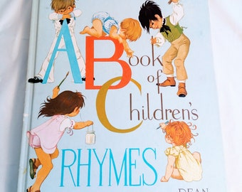 ABC Book of Children's Rhymes and Verse Hardcover – 1977 by Janet and Anne Grahame Johnstone