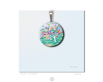Romantic jewelry. Tree of life.