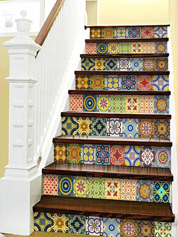 Sticker Set Mexican Tile Tile Stickers Decorative Tiles