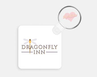 Dragonfly Inn Key Chain - Gilmore Girls
