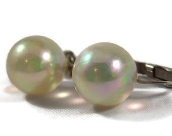 Richelieu Soap Bubble Clip on Earrings, Richelieu Earrings, Richelieu Jewelry, Soap Bubble Earrings, Translucent Earrings