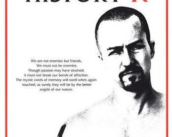 American History X    24 x 36 inches