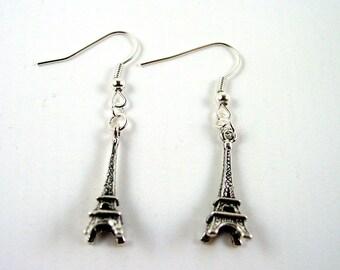Eiffel Tower Earrings - French Earrings