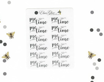 STORM ME TIME Planner Stickers |  BeeColorful
