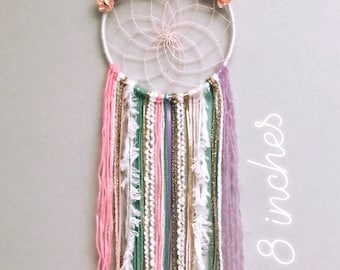 Unicorn dream catcher with gold horn