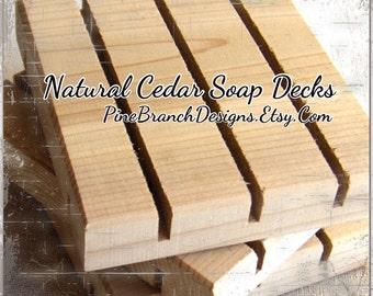 300 standard cedar soap decks