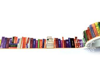 Books Washi Tape • Library Books (183609)
