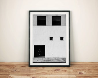 Abstract Art Building Photography Print Poster
