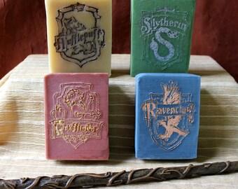 Hogwarts Houses Goat's Milk Soap Gift Set